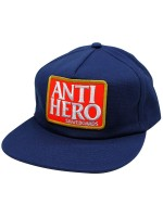 Gorra Antihero Reserve Patch Unstructured Navy