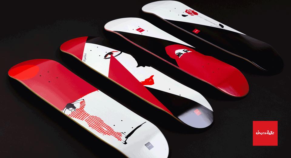 Distribucion y Ventas al Mayoreo de Chocolate Skateboards en CDC Skate