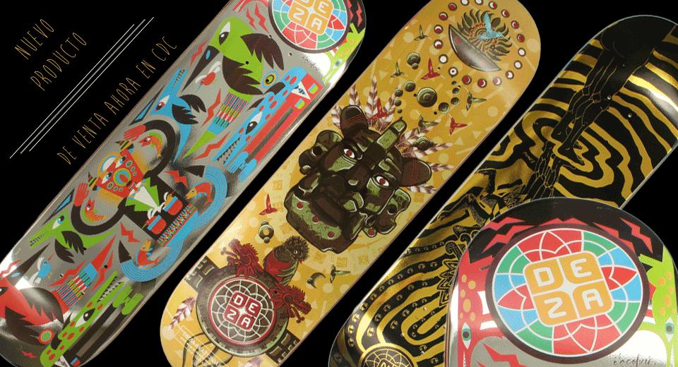 Distribución y ventas al mayoreo, comprar producto Deza Skateboards